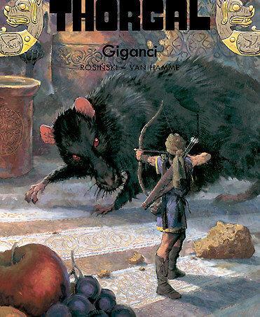 Thorgal - komiks - tom 22